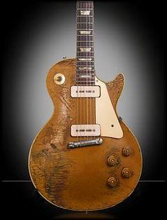 1954 Gibson Les Paul Goldtop Mais
