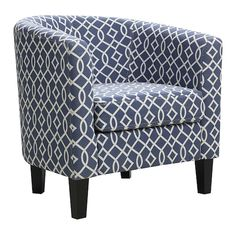 Riley Barrel Arm Accent Chair $119.99 (52% off) @ Kohl's