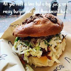 Enjoyed Blue Buffalo Burger at Bo & Vine today. Buffalo Burgers, My Father's World, Photo A Day, Bagel, Food, Essen, Meals, Yemek, Eten