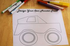 Monster Truck Coloring Pages Free Monster Truck Coloring Sheet – Easy Monster Truck Birthday party activity Monster Trucks, Monster Truck Birthday, Monster Jam, Cars Birthday Parties, 4th Birthday, Birthday Ideas, Lego Parties, Game Truck Party, Party Games