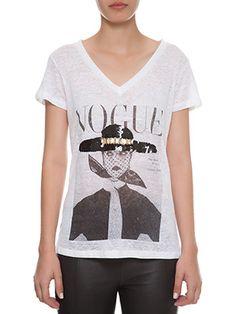T-Shirt Vogue Chapéu » Blusas - Gallerist