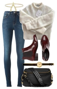 """""""Untitled #5754"""" by rachellouisewilliamson on Polyvore featuring Acne Studios and Jennifer Meyer Jewelry"""