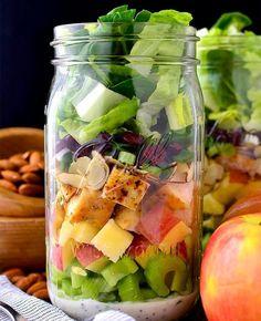 16 Mason Jar Salads to Take to Work