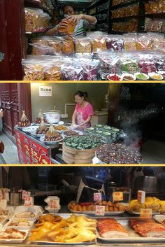 China street markets | China Food | FourStars Stage in Cina