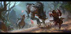 hunter , sui yangyang on ArtStation at https://www.artstation.com/artwork/hunter-95ddb87b-b84f-4fc4-87d0-83b8ea74516e