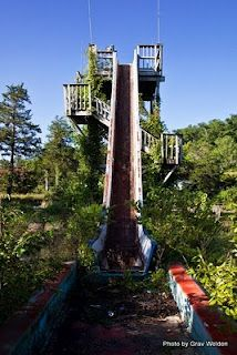 I went down this waterslide as a 13 year old...flipped over and spent the rest of the day wet and cold but my parents did up buying me a Dogpatch USA shirt with fringe at the bottom. It was the 80's!