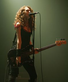 Melissa Auf der Maur // Bassist for Tinker, Hole, Smashing Pumpkins