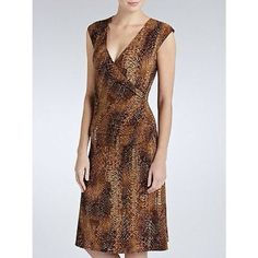 RALPH LAUREN PYTHON SNAKESKIN WRAP DRESS XS, NWT REDUCED!  New With Tags, Ralph Lauren pricey wrap dress, sz XS, Brown toned python snakeskin, sexy fit wrap dress!  Great gift!  WILL SHIP RIGHT AWAY Ralph Lauren Dresses