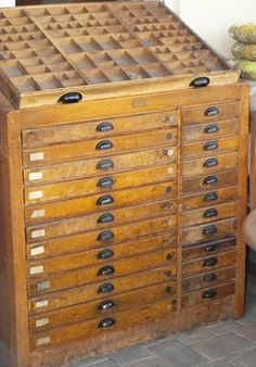 One day I will find one of these at an estate sale. A girl's gotta dream, right?
