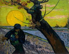 Vincent van Gogh , De zaaier , 1888