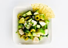 Want a fresh, light snack? Try this staple ceviche verde recipe with halibut, lime, cilantro and avocado.   @Amazing Avocado    #CincoAvocados http://www.bonappetit.com/recipes/2011/08/ceviche-verde @Amazing Avocado #CincoAvocados Cinco de Mayo appetizer