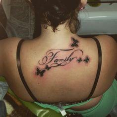 #tattoo#tattoos#family#batrflai