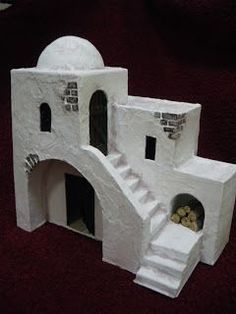 1 million+ Stunning Free Images to Use Anywhere Clay Houses, Ceramic Houses, Miniature Houses, Nativity House, Christmas Nativity, Christmas Villages, Fairy Houses, Small World, Christmas Projects