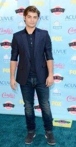 Garrett Clayton At The 2013 Teen Choice Awards