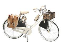 #Fendi-Fahrrad, natürlich mit Pelztasche. Total schick, aber leider auch enorm teuer. Das #Abici Amante Donna hat einen Ledersitz und Ledergriffe und ist voll im #Retrolook. Nur der Frontgepäckträgerkoffer kostet 975 Dollar. Alles in allem dann 9.500 Dollar.