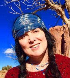 Ann in Monument Valley