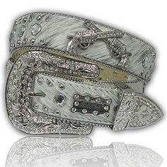 Cowhide with Pistols Women's Belt The Western Boutique offers a wide selection of beautiful Texas style Cowgirl Bling Belts. Made of genuine leather and cowhide. These western belts feature Rhinestones, Crystals, Crosses, Conchos, and Pistols. thewesternboutiqu... Clothing, Shoes & Jewelry - Women - women's belts - http://amzn.to/2kwF6LI
