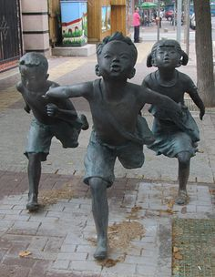 Asian Potters – A day in the life Qingdao, The Life, Asian, Statue, Spaces, School, Day, Sculpture, Pottery