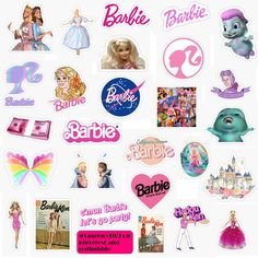 Cute Laptop Stickers, Phone Stickers, Wall Stickers Vintage, Pink Laptop, Aesthetic Indie, Magazine Collage, Pink Barbie, Barbie Movies, Art Hoe
