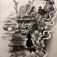 Resultado de imagem para samurai tattoo