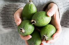 10 ways with feijoas – Your ultimate recipe collection to indulging in one of our favourite autumn fruits, the feijoa. - Eat Well (formerly Bite) Guava Recipes, Chutney Recipes, Jam Recipes, Recipies, Relish Recipes, Jelly Recipes, Fruit Recipes, Fruit Crumble, Crumble Recipe