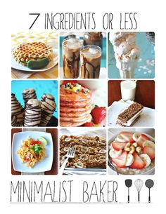 7 Ingredients or Less :: Free E-Cookbook :: Minimalist Baker
