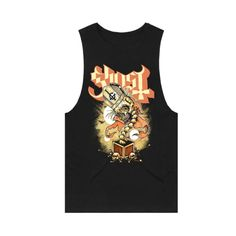 Made by Collage Ghost Official, Tank Man, Collage, Mens Tops, Fashion, Moda, Collages, Fashion Styles, Collage Art