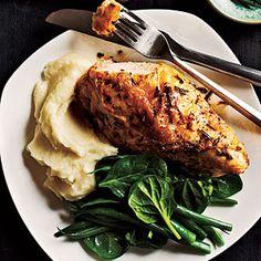Comfort Food Dinner Recipes | Italian-Seasoned Roast Chicken Breasts | CookingLight.com