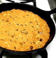 One Hot Stove: Cast Iron Cooking: Tips, Recipe Ideas, a Giant Cookie and a Cookbook Review