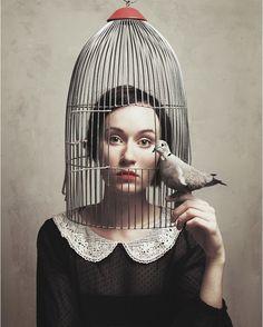 Birdcage - Flora Borsi