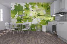 Green Leaf - Fototapeter & Tapeter - Photowall