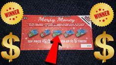 💰Winning Ticket💰 Merry Money NC Lottery