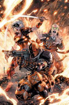 Deathstroke Comics, Deathstroke The Terminator, Deadshot, Deathstroke Cosplay, Daredevil, Comics Anime, Dc Comics Art, Marvel Dc Comics, The Darkness