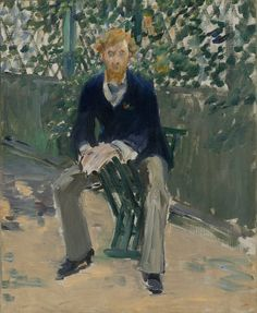 Édouard Manet, 'George Moore in the Artist's Garden,' ca. 1879, Seattle Art Museum