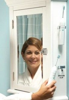 Broom clips for big battery-toothbrushes