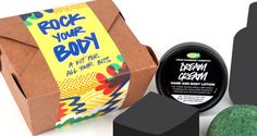 Rock Your Body - a kit for all your bits!  4 treats for $25.95!  I should get one of these for my sister. You should too.