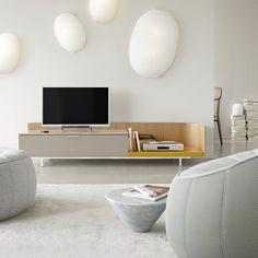 Un meuble hifi design, Cinna