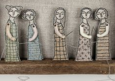 hand embroidery diorama- common thread textile art fiber art by MarysGranddaughter on Etsy https://www.etsy.com/listing/100810036/hand-embroidery-diorama-common-thread