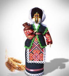 Ukrainian OOAK Doll 'Beregynia' handmade cloth motanka-doll women amulet happy family life talisman Maternity and Fertility Symbol Doll