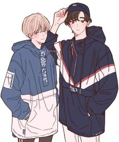 I don't know if this is bts fanart 😭😭 hot anime guys, Cartoon Kunst, Anime Kunst, Cartoon Art, Pretty Art, Cute Art, Character Concept, Character Art, Boy Drawing, Estilo Anime