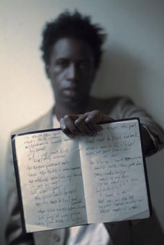 Saul Williams, American singer, musician, poet, writer, & actor. He is known for his blend of poetry & alternative hip hop, and for his lead role in the film Slam. which won both the Sundance Festival Grand Jury Prize & the Cannes Camera D'Or (Golden Camera) award. He has performed with artists such as Nas, The Fugees, Christian Alvarez, Blackalicious, Erykah Badu, KRS-One, Zack De La Rocha, De La Soul, & DJ Krust, as well as poets Allen Ginsberg & Sonia Sanchez.