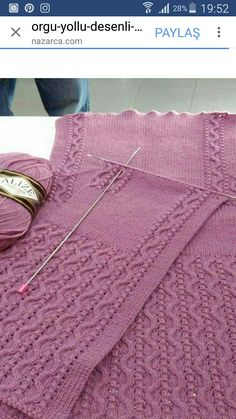 I am aware that if you are not a very good knitter you will need knitting schemes. Crochet Stitches Patterns, Sweater Knitting Patterns, Knitting Designs, Knitting Projects, Baby Knitting, Stitch Patterns, Sewing Clipart, Knit Vest Pattern, Knit Crochet