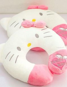 ImageFind images and videos about cute, kawaii and hello kitty on We Heart It - the app to get lost in what you love. Sanrio Hello Kitty, Hello Kitty Items, Decoracion Hello Kitty, Sewing Projects, Projects To Try, Miss Kitty, Kitty Kitty, Hello Kitty Collection, Cute Pillows