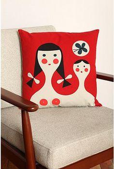 Alexander Girard pillow