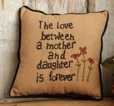 Stitchery Pillow