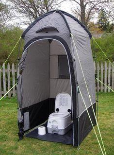 Camping Shower Diy, Tenda Camping, Camping Glamping, Camping Stove, Camping Life, Outdoor Camping, Family Camping, Camping Toilet Tent, Beach Camping