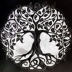 Celtic tree of life.