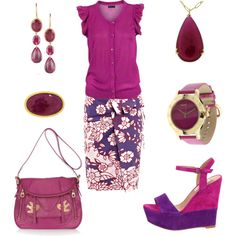 Magenta..., created by rkimball on Polyvore