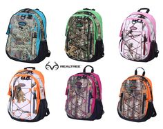 #New Realtree Camo Backpack - what is your favorite?  #Realtreecamo #backtoschool
