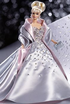 1997 Billions of Dreams Barbie  A very exclusive limited edition Barbie designed to celebrate the billions of dreams Barbie has inspired!